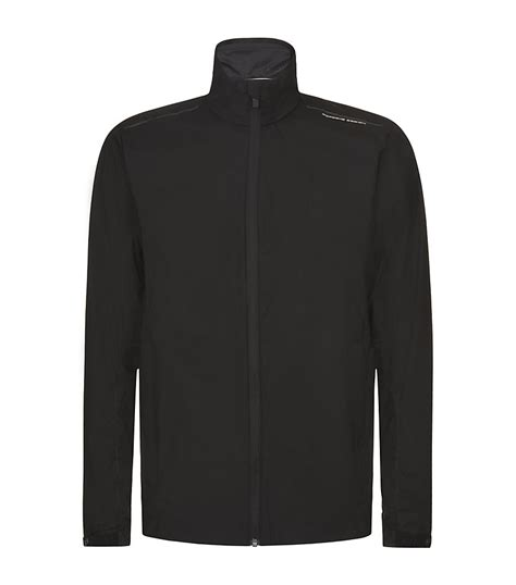 porsche design clothes uk porsche design ultralight jacket in black for men lyst