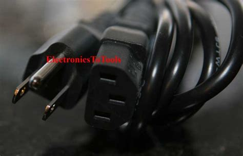 Ac Panasonic Plasma panasonic tcp42c2 plasma hd tv ac power cord cable 42 quot viera