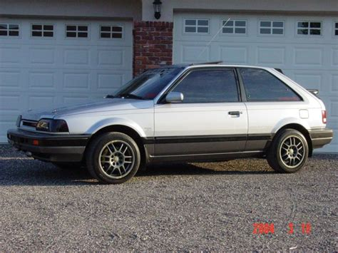 car owners manuals for sale 1988 mazda familia parking system 1988 mazda 323 gtx 4x4 turbo 4 sale trade ta racing