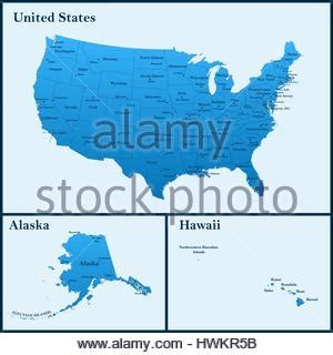 map of the united states hawaii detailed map of the united states including alaska and