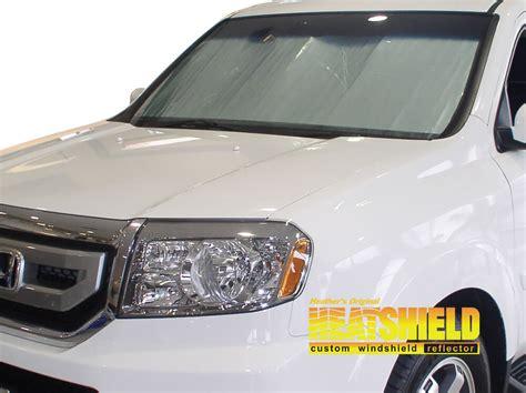 honda pilot suv windshield sun shades car window shades  car window covers