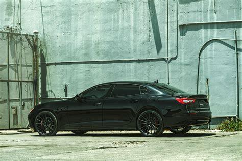maserati quattroporte black rims avant garde wheels ag classic ag art ag forged