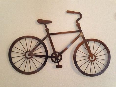 bicycle metal wall decor home decor