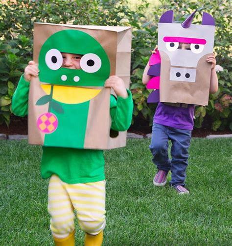 diy paper bag costume ideas