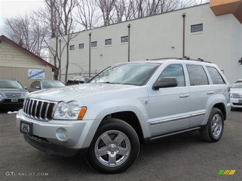 2006 Jeep Grand Silver Bright Silver Metallic 2006 Jeep Grand Limited