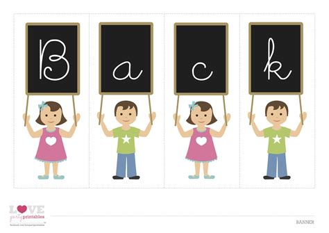 printable children s day banner free back to school printables from love party printables