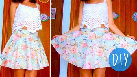 diy skirt diy skater circle skirt in 3 steps no zipper no elastic