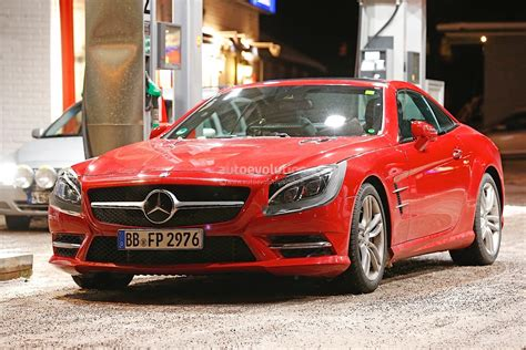 mercedes s class headlights mercedes benz sl facelift spied wearing s class coupe