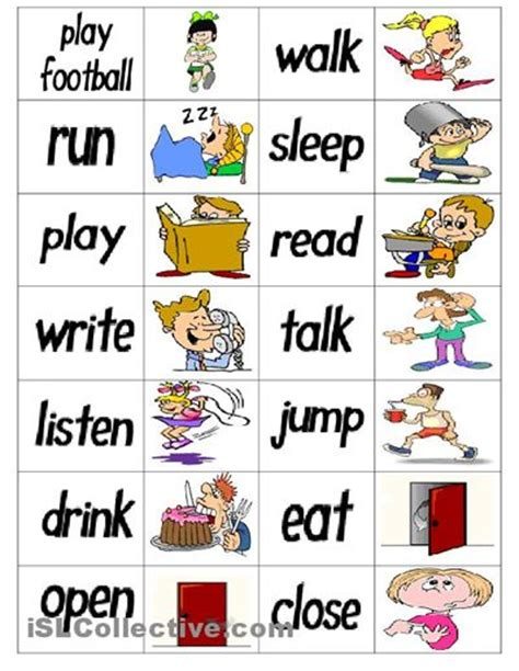 printable pictures verbs 132 best speech therapy verbs images on pinterest