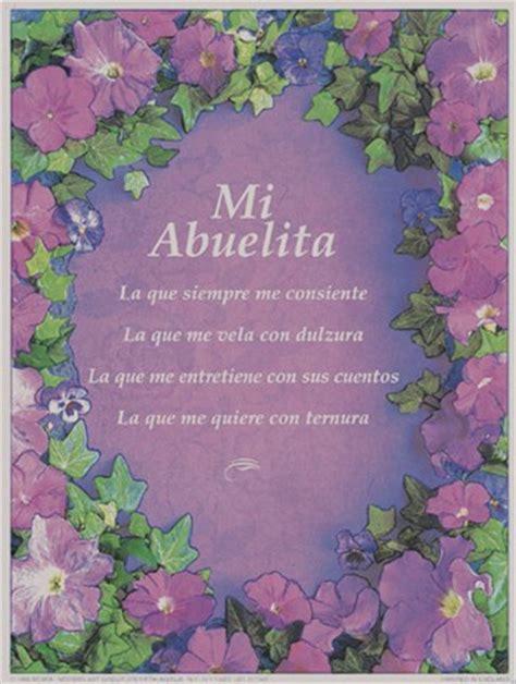 spanish mothers day poems nancy matthews grandmother spanish size 6x8 fine art