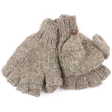 lined mittens knitting pattern fingerless gloves mittens fleece lined wool knit shooting