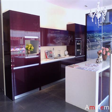 Lacquer Kitchen Cabinets by Purple Lacquer Kitchen Cabinet Amblem China