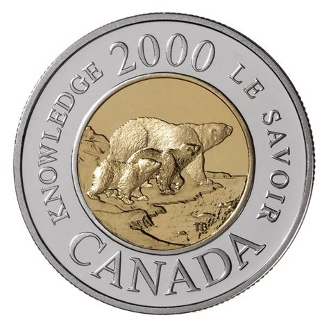 composition 2 dollar canadien 2 dollar