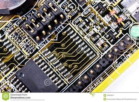 Memory Macro computer memory stock photography image 10453672
