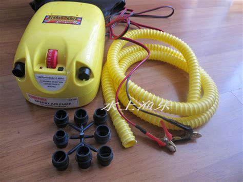 rubberboot elektrische pomp gratis verzending opblaasbare boot rubberboot elektrische