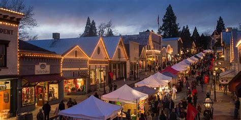 xmas lights eurekaca california towns with spirit visit california