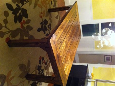 How to build a farmhouse table diy project aholic