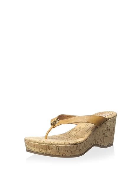 burch sandals ebay burch suzy cork platform wedge sandals ebay