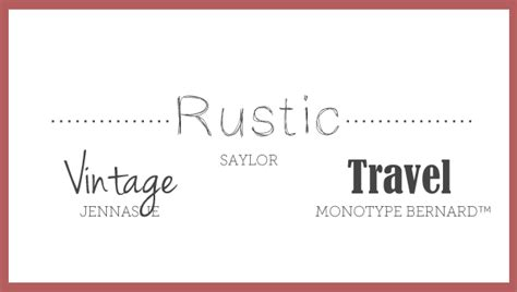 free printable rustic fonts rustic png
