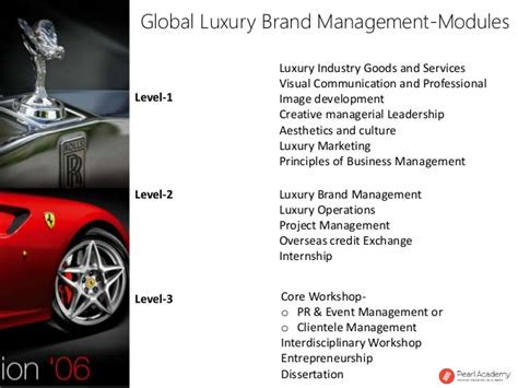 Pg Mba Brand Manager by Dissertation Topics On Luxury Brands