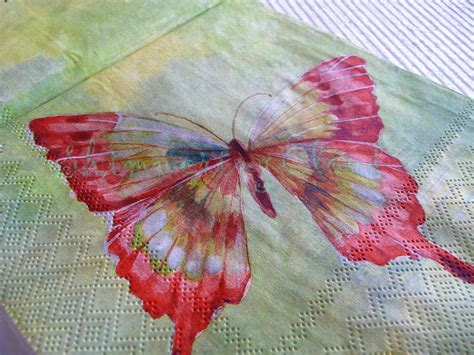 Butterflies With Paper - butterfly paper napkins decoupage butterflies blue green