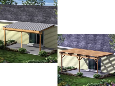 Patio Covers Drawings Shade Creek Shaded Patio Covers Plan 002d 3024 House
