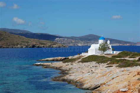 acquisto isole greche isole greche piccoli amorgos della chiesa immagine stock