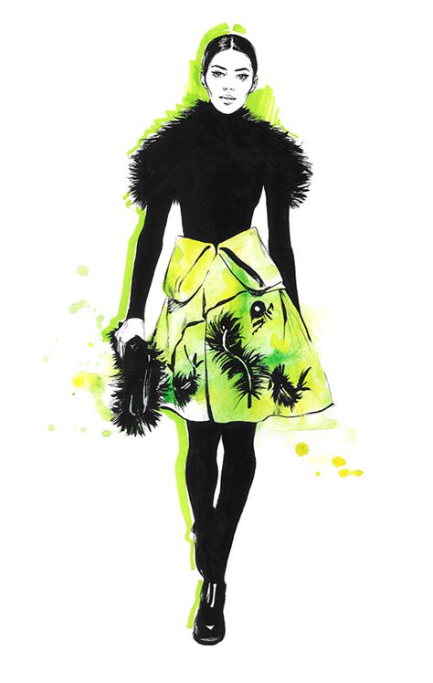 fashion illustration editorial kenzo editorial fashion illustration on behance