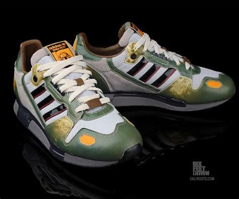 adidas wars sneakers adidas wars boba fett zx 800 running shoes