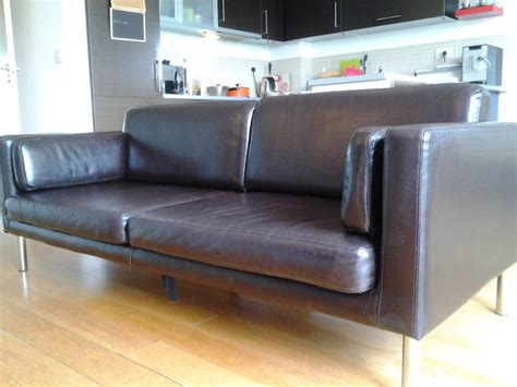 sater sofa ikea ikea sater leather sofa for sale in donabate dublin from