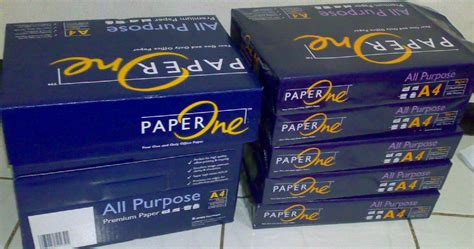 Dijamin Paper Paper One F4 70gsm paperone a4 80gsm copy paper all purpose from pt kertas