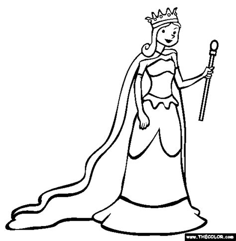 free coloring pages king and queen image gallery queen coloring