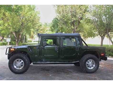 2003 hummer h1 for sale 2003 hummer h1 for sale classiccars cc 979934