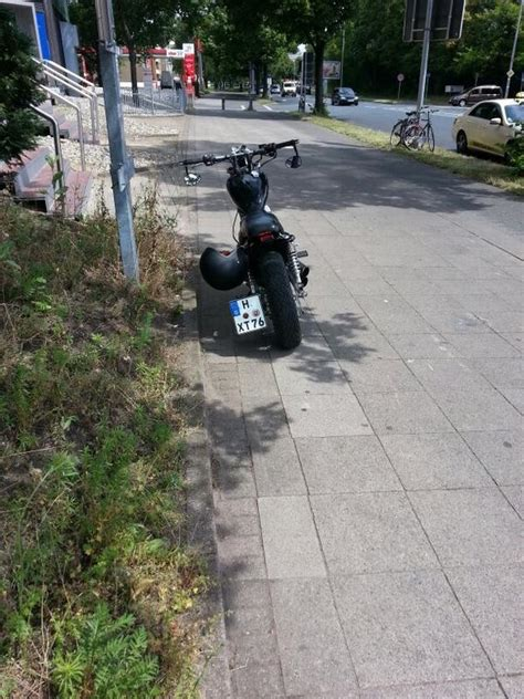 Motorrad Kaufen In Hannover by Yamaha Virago 535 Xv Bobber In Hannover Chopper Kaufen