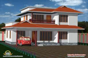 2 Story House Floor Plans And Elevations 2 Story House Elevation 2050 Sq Ft Kerala Home