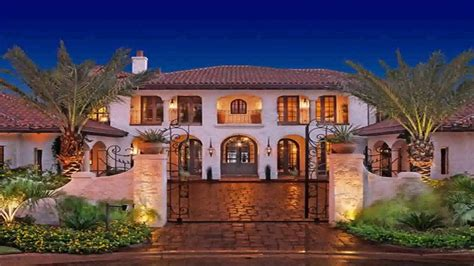 Spanish Style House Plans by Spanish Style Hacienda House Plans Youtube