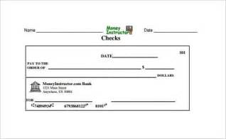 Template Of A Check by Blank Check Template 30 Free Word Psd Pdf Vector