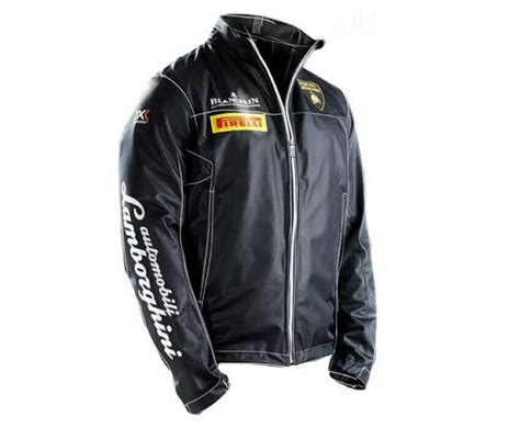 Lamborghini Fashion Lamborghini Leather Jacket Clothes And Accessories