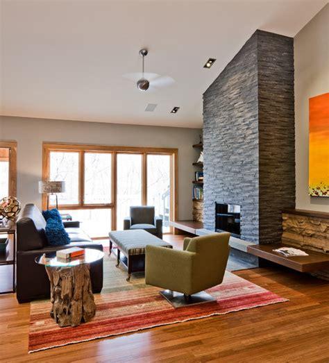 Retro Family Room Contemporary Family Room Eminent Interior Design