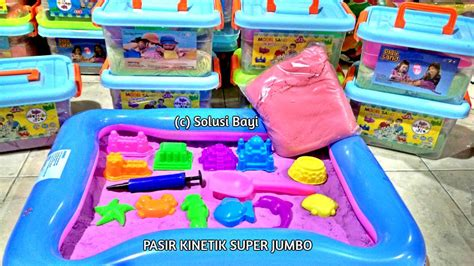 Murah Meriah Pasir Kinetik Kinetic Sand Magic Sand Pasir Ajaib Mainan home pasir kinetik kinetic sand
