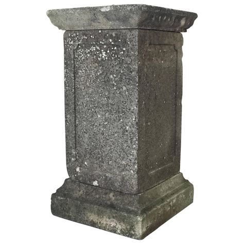 Garden Pedestals garden pedestal for sale at 1stdibs