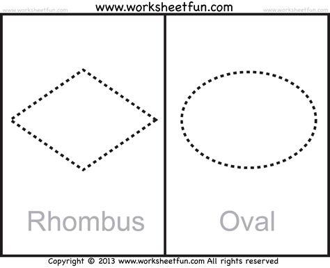 free printable rhombus shapes shapes circle triangle square rectangle rhombus