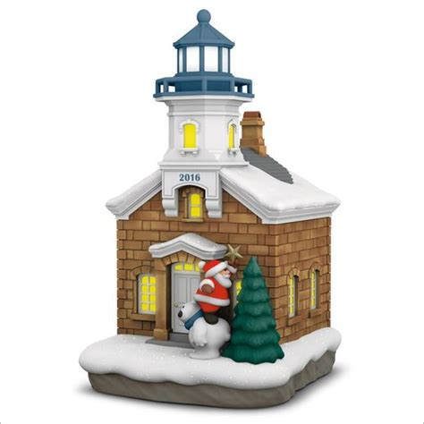 magic cord hallmark ornament list by year 2016 lighthouse 5th magic cord hallmark ornament at ornament mall