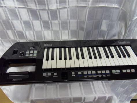 Keyboard Roland Lucina portable keyboard keytar roland lucina ax 09 black