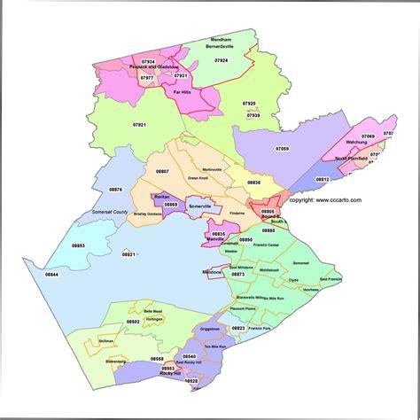 zip code map union county nj new jersey zip code map by county zip code map