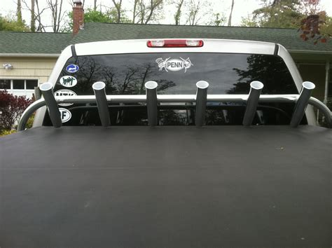 boat truck bed rod rocket launcher in truck bed mount the hull truth