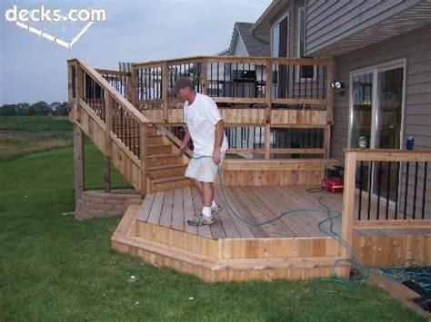 Multi Level Patio Designs by Triyae Multi Level Backyard Designs Various Design