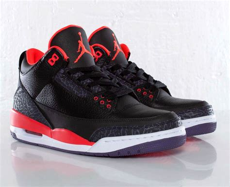 imagenes jordan retro 3 air jordan 3 retro quot bright crimson quot new images and