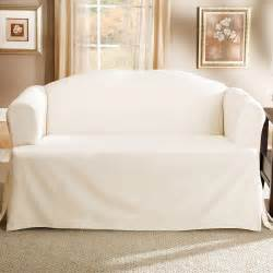 White Cotton Sofa Slipcovers Couch Slipcovers For Reclining Sofa Home Improvement