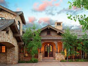 Colorado House Plans Summer Mountain Home In Vail Valley